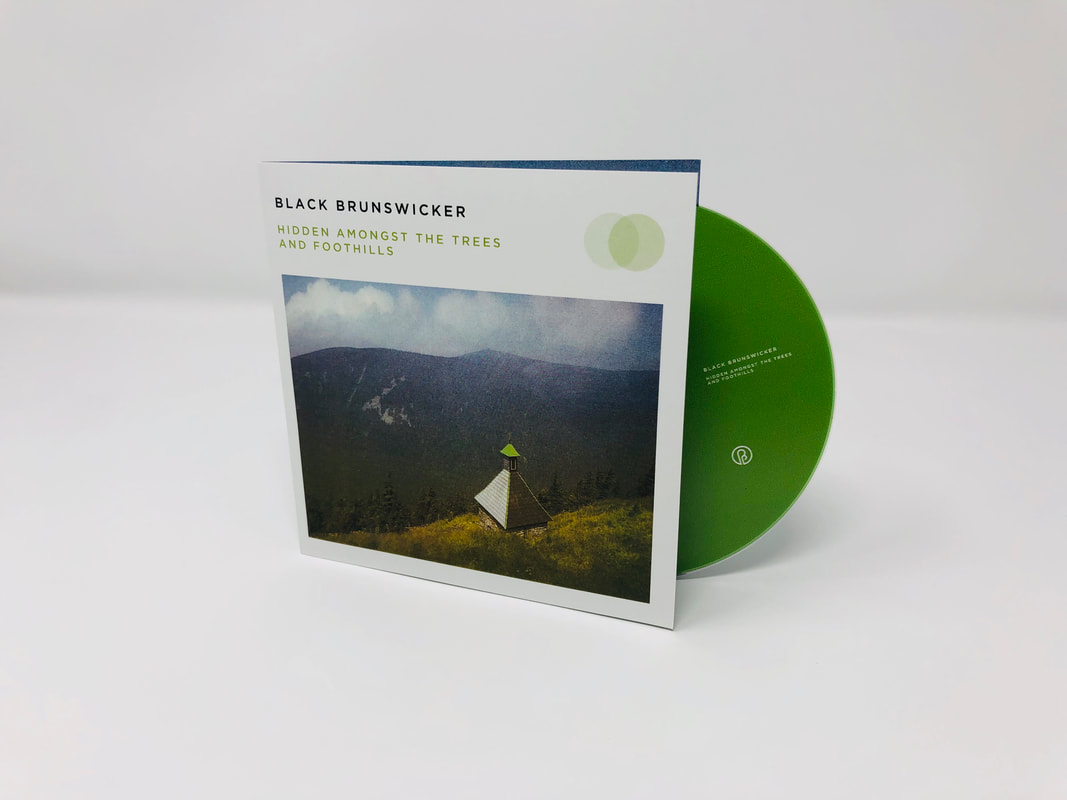 black brunswicker ethan past inside the present PITP ambient drone label cd cassette helfrich