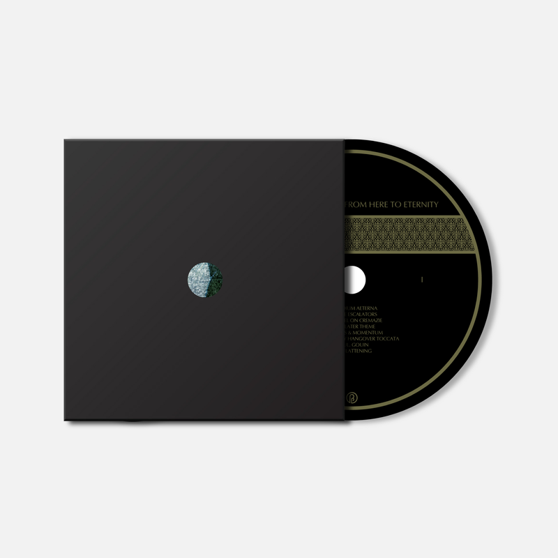kyle bobby dunn black edition set past inside the present ambient album drone label 3xcd PITP KBD