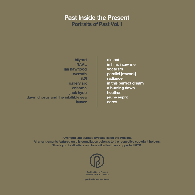 past inside the present label ambient drone lp cd pitp portraits of past